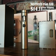 One of the most popular products recently! The #Joyetech #eGoAIO Why you should order Joyetch products from #Cacuqecig.com? Because Cacuqecig has the stable cooperation with Joyetech, and we have the solid relationship. So we can always be the first one to get the new products! As well as the #eGoAIO kit! Order now, ship before Friday! #EcigWholesale #Ecigarette #Ecigs #VapeWholesale #Vape