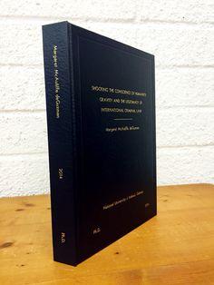 printing dissertation