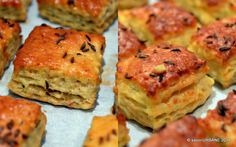 Pogacele cu jumari si branza Bread And Pastries, Dough Recipe, Pinterest Recipes, My Recipes, Recipies, Salmon Burgers, I Foods, Food Videos, Quiche