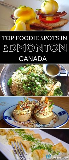 Top Foodie Spots In Edmonton Canada Canadian Travel, Canadian Food, Canadian Rockies, Canadian Cuisine, Best Restaurants In Edmonton, Backpacking Canada, Canada Holiday, Visit Canada, Best Places To Eat