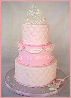 Princess Birthday Cake   Princess cake for a 3 year old girl…   Flickr