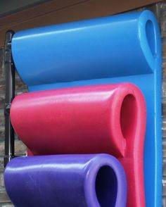After pool fun is done, our Hanging Pool Float Rack stores your floats neatly out of sight.