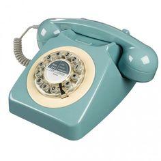 téléphone rétro Blue
