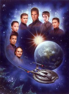 Star Trek, Enterprise - Not everyone liked this series, but I did! I think they could have done better with the theme song. I have a suspicion that most Trekkies just got tired of that damn song being stuck in their head all the time!