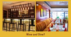 What would be your pick....Bottoms Up time at District Lounge or a leisurely great meal at Gulmurg?