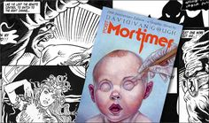 David Van Gough's 20th Anniversary Post Mortimer Graphic Novel - Click the image to read Part One! - davidgoughart.com