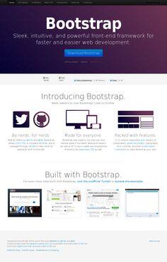Bootstrap [http://twitter.github.com/bootstrap/]