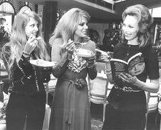 Pattie Boyd, 1971 (on the left)