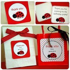 Printable Little Ladybug Collection