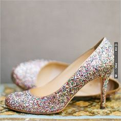 Kate Spade Sparkle Shoes | CHECK OUT MORE IDEAS AT WEDDINGPINS.NET | #weddingshoes