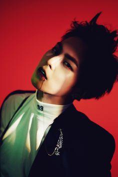 Xiumin - 160609 'Monster' album digital booklet photo Credit: SM Entertainment.
