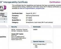 Droid Prime gets Wi-Fi and Bluetooth certification