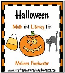 Halloween centers for Math and Literacy Stations