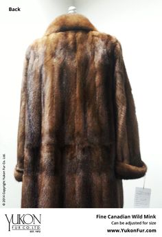 Fine Canadian Wild Mink  $12,500.00  Size: 10  Can be adjusted for size  http://www.yukonfur.com/wp/product/20138-fine-canadian-wild-mink  For details call +01.416.598.3501 or email Chris, chris@yukonfur.com