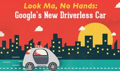 Look Ma, No Hands: Google's New Driverless Car #infographic ~ Visualistan