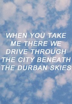 bastille lyrics durban skies