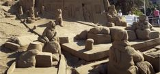 The Sand Nativity Scene in Gran Canaria: find out more about the nativity scene on the beach of Las Canteras and its history, besides how to visit it. Canario, Nativity, Mount Rushmore, Scene, Mountains, History, Beach, Nature, Travel