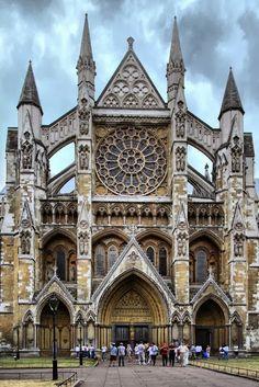 Westminster Abbey, London.