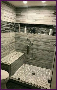 57 suprising small bathroom remodel and design ideas to inspiring you 10 Related. 57 Suprising Small Bathroom Remodel and Design Ideas to Inspiring Bathroom Design Small, Bathroom Interior Design, Modern Bathroom, Shared Bathroom, Master Bathroom Shower, Basement Bathroom, Shower Ideas Bathroom, Cool Bathroom Ideas, Handicap Bathroom