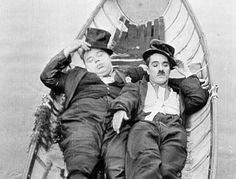 Charlie and Fatty Arbuckle.