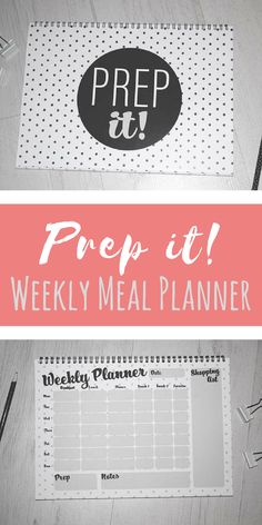 Prep it Weekly meal planner tool to get meal planning under control. This would be a great way to keep track of a weekly meal plan. Meal Planner Printable, Weekly Meal Planner, Frugal Living, Meal Planning, Track, Ads, How To Plan, Runway, Truck