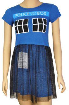Vestido Tardis. Doctor Who Original vestido para las amantes de la serie de ciencia ficción Doctor Who.