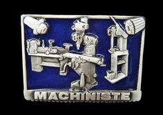 MACHINIST MACHINERY MACHINE SHOP TOOL BIG BELT BELTS BUCKLE  #CoolBuckles #Machinist #worker #metalworker #beltbuckle