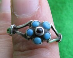 Vintage Russia Old Ring Silver 84 1 9 grams Vintage Rings, Vintage Jewelry, Old Rings, Women's Jewelry, Belly Button Rings, Silver Rings, Turquoise, Womens Fashion, Russia