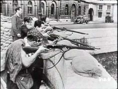 On 19th August 1944, after more than 4 years of occupation, the French Resistance rose up to throw off their German oppressors.  On 24-25 August, the French 2nd Armored Division and 4th US Infantry division entered the city.