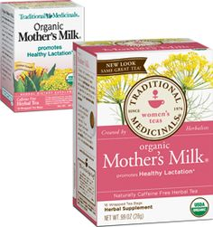 Mother's Milk® - Traditional Medicinals Organic Mother's Milk (R) Tea - Promotes Healthy Lacation (statement not evaluated by the Food and Drug Administration - product not intended to diagnose, treat, cure or prevent any disease
