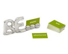 BE... INSPIRATIONAL PAPERWEIGHT | Metal Desktopper | UncommonGoods