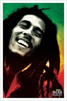 BOB MARLEY - paint - Europosters