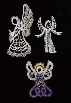 BOBBIN LACE ANGELS