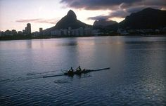 rowing - Rio de Janeiro  ~ my bucket list consists of rowing on waters all over the world! ~