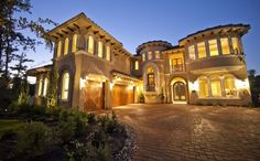 Tuscan Style is the only style home I want. The end.
