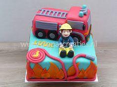 Afbeeldingsresultaat voor brandweerman cupcakes