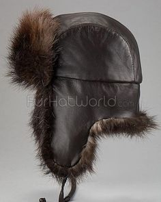 eedbbe0eed9a9f Shop FurHatWorld for the best selection of Men's Exotic Russian Trapper  Style Hats. Buy The Swiss Alps Beaver Fur Trapper Hat for Men by FRR with  fast same ...