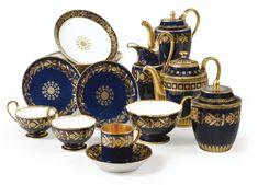 "Sevres Porcelain "" Capraire "" part-services, Restauration and Louis-Philippe, 19th century | sotheby's"