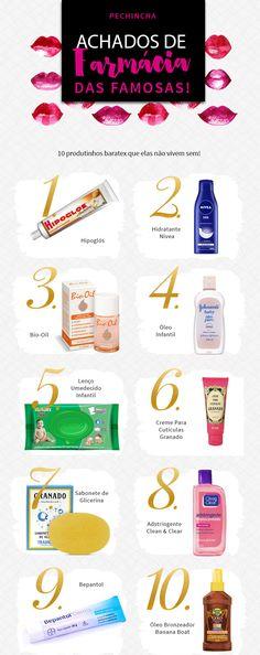 #Pechincha com os melhores achados de farmácia das famosas, porque todo mundo ama um produtinho bom e barato, né? Os 10 melhores!