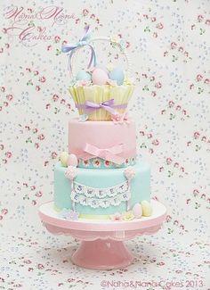 Cake Easter Egg Basket