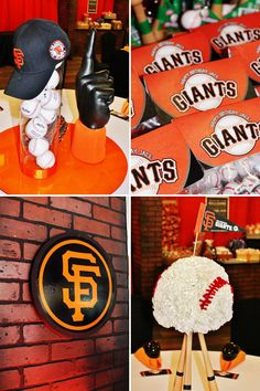 Printable Sf Giants Logo Cupcake Toppers From