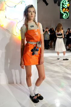 New York Fashion Week: Ground Zero Spring/Summer 2016. Click through to see more: http://nyfw.com/ground-zero.