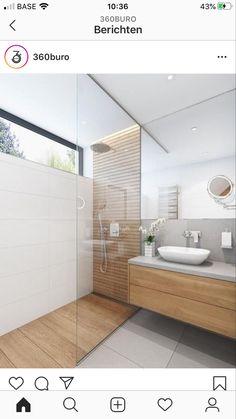 Diy Bathroom, Bathroom Interior, Bathroom Decor Luxury, Wood Floor Bathroom, Bathroom Renovation Diy, Bathroom Decor, Bathroom Design, Tile Bathroom, Shower Room