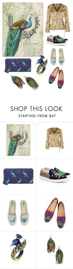 """""""Untitled #159"""" by carrie-bradshaw2 ❤ liked on Polyvore featuring Yosemite Home Décor, Topshop, Kate Spade, Joshua's, Soludos, Nach and Serefina"""