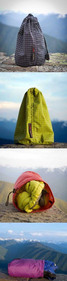 Travel Stuff Sacks >>> Love these!
