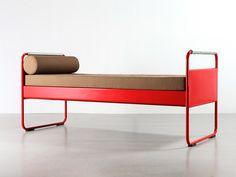 Bed no. 17, then no. 101, 1935 | Jean Prouvé | Galerie Patrick Seguine