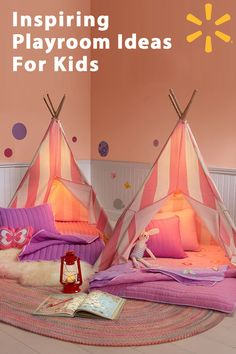 Give your child a space to be creative with this Children's Teepee Tent. Designed to give your child hours of fun, it's suitable for indoor or outdoor use and comes with storage, so you can take it with you wherever you go to give your child a special play place.