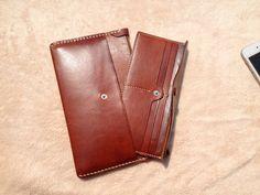 Ручной женщины кожаный бумажник бумажник марочное от MagicLeatherStudio