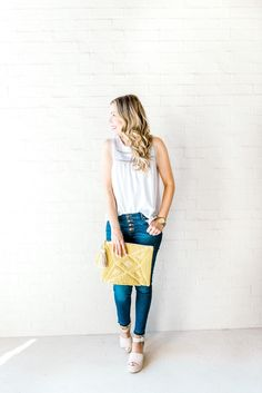 Summer Essentials...Home Decor and Fashion by popular Oklahoma lifestyle blogger, Curls and Cashmere