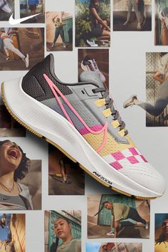 Make the Peg 38 your own with Nike By You—choose your fabrics and colors to create your custom shoe. Discreet Tattoos, High Fashion Outfits, Nike Air Zoom Pegasus, Sweet 16 Dresses, Zara Fashion, Amazon Kindle, Custom Shoes, Beautiful Shoes, What I Wore
